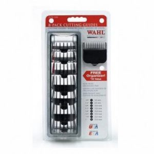 Wahl BLK 8 pc. Cutting Gaurds w Organizer