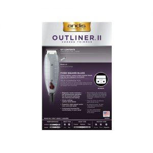 andis Outliner II 04603 B back