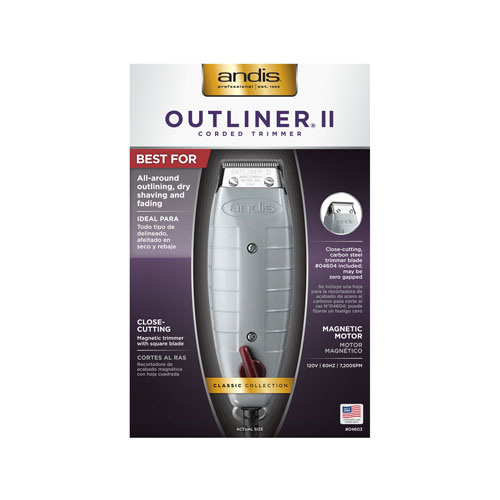 andis Outliner II 04603 B straight
