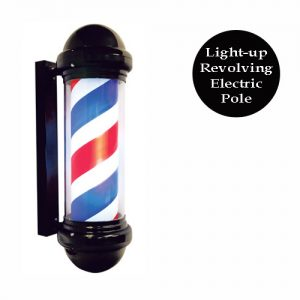 Black Barber Pole