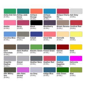 b vs e color chart 1 450x450 1