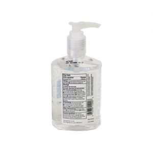 Swan Hand Sanitizer back