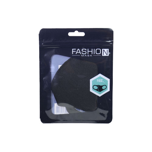 fashion mask black B front