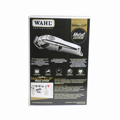 wahl 8509 magic clip metal edit. B back