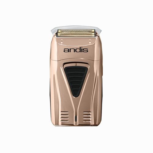 Andis Copper ProFoil Lithium Titanium Foil Shaver O w. cap