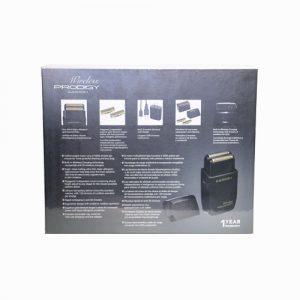 Wireless Prodigy Foil Shaver Matte Black B back