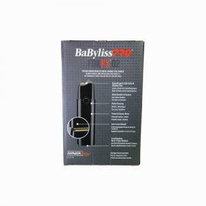 Babyliss BLK FX02 shaver B back